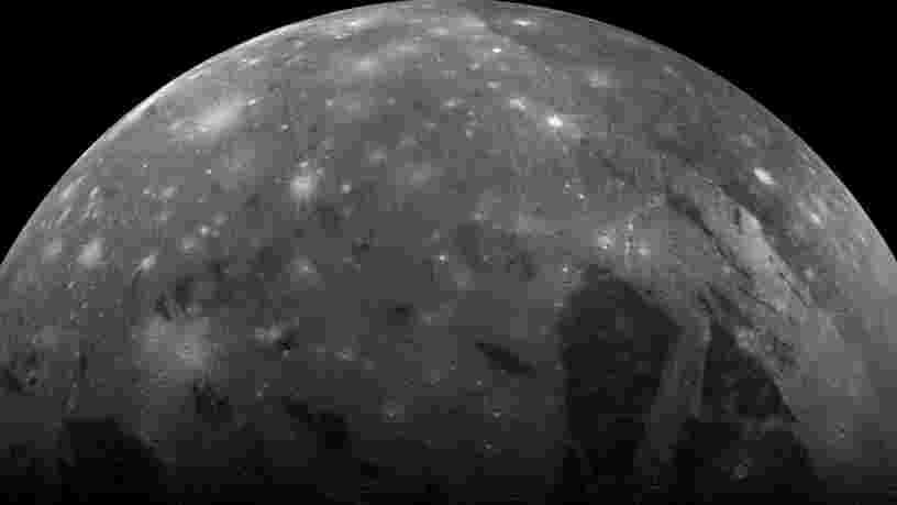 Le télescope spatial Hubble a découvert de la vapeur d'eau sur Ganymède, la lune de Jupiter