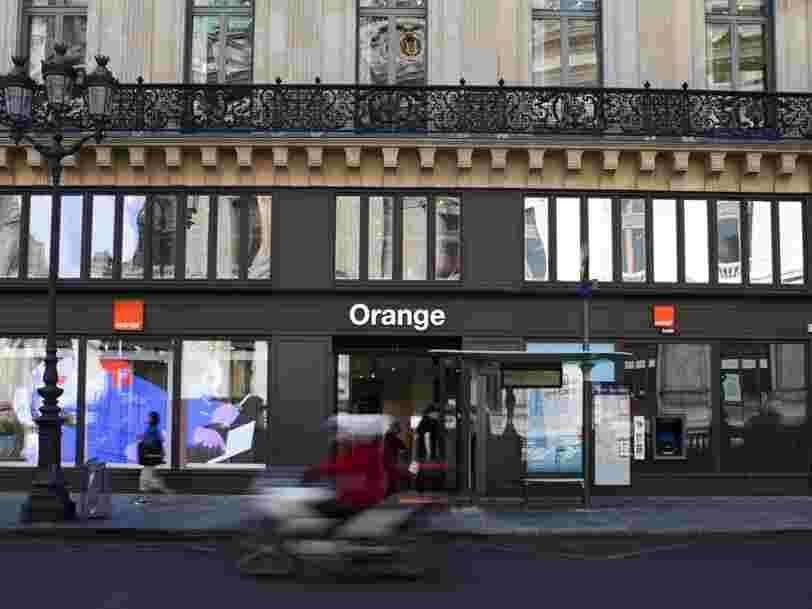 Orange annonce un résultat négatif au premier semestre 2021, malgré des ventes qui progressent