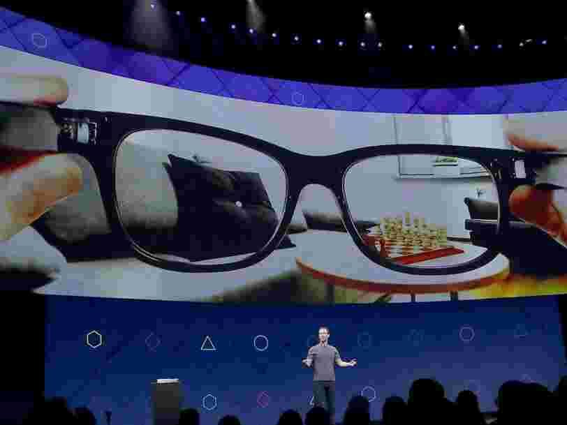 Facebook prépare le lancement de lunettes connectées en partenariat avec Ray-Ban