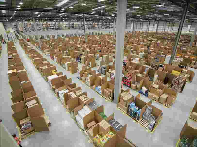 Amazon lourdement sanctionné en Europe pour non respect des données personnelles