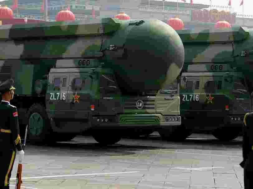 Les nouveaux silos à missiles de la Chine pourraient être sa réponse aux grandes puissances nucléaires