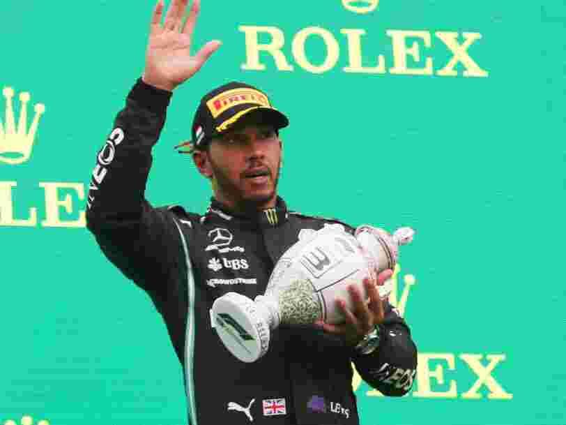 Lewis Hamilton garde encore les séquelles du Covid-19, neuf mois après avoir été contaminé