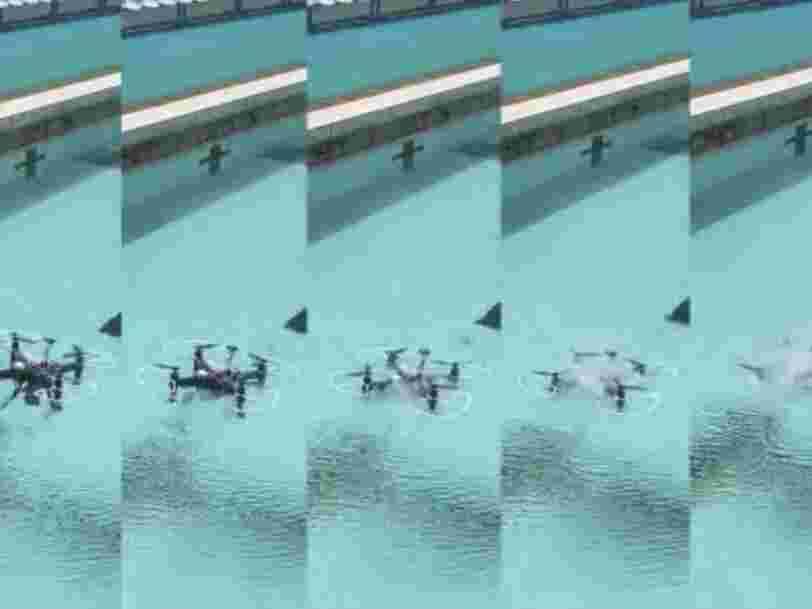 Des chercheurs chinois développent un drone capable d'évoluer dans les airs et sous l'eau