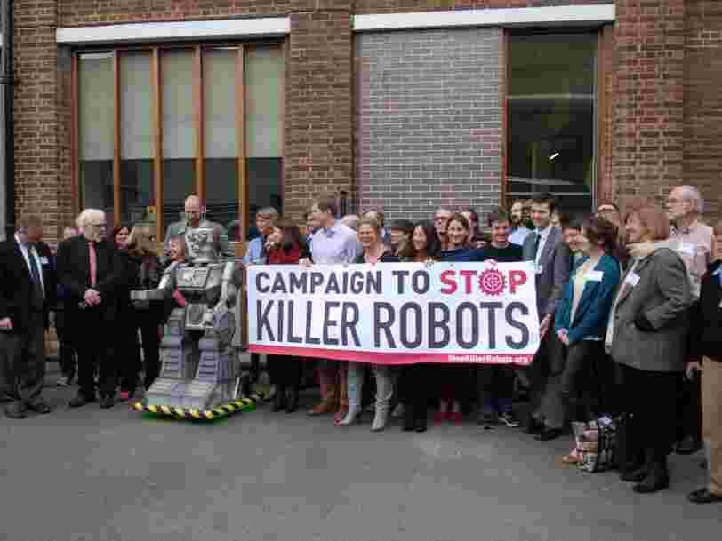 Human Rights Watch appelle les gouvernements à interdire 'd'urgence' les robots tueurs