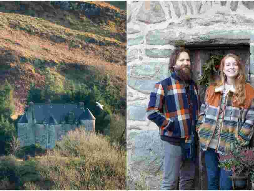 Un couple décide de changer de vie pour transformer un château écossais délabré en hôtel de luxe
