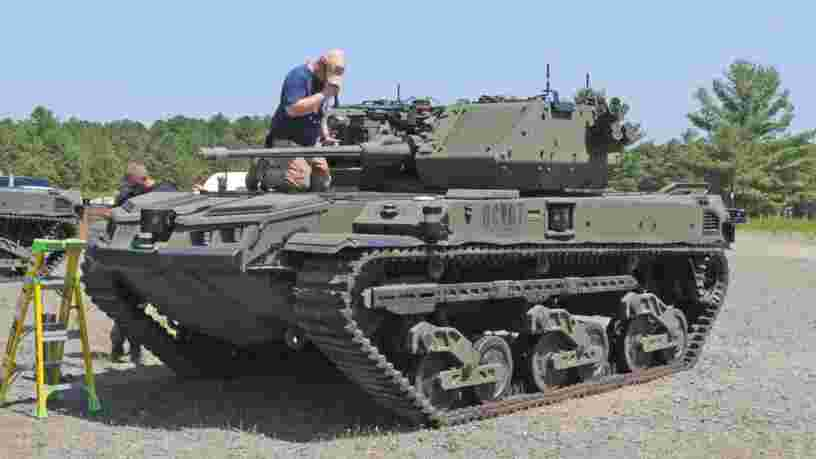 L'armée américaine teste son mini-char autonome pour la première fois