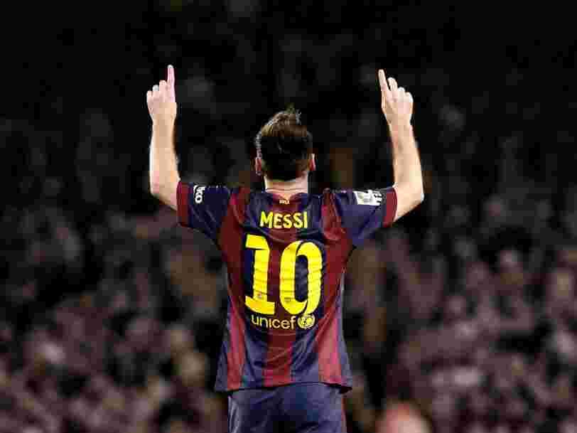 Voici comment Lionel Messi gagne et dépense son argent