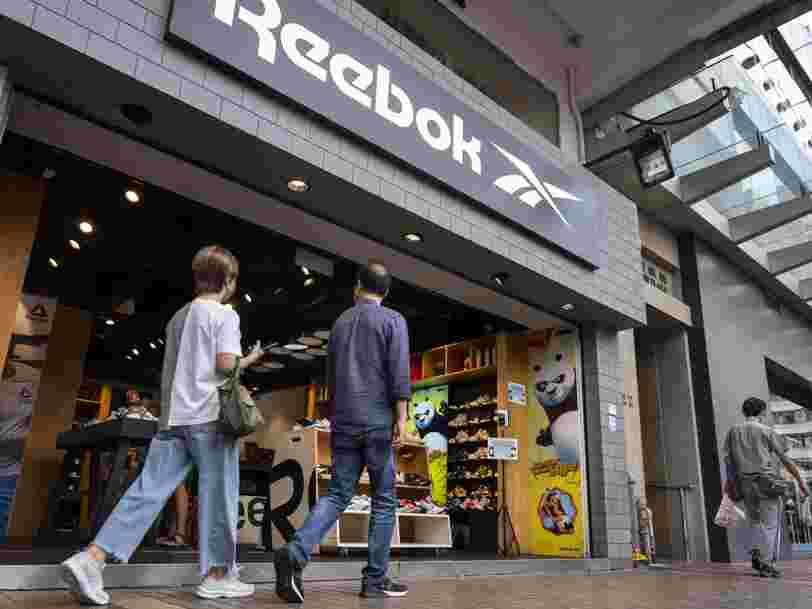 Adidas revend la marque Reebok après 16 ans de résultats décevants