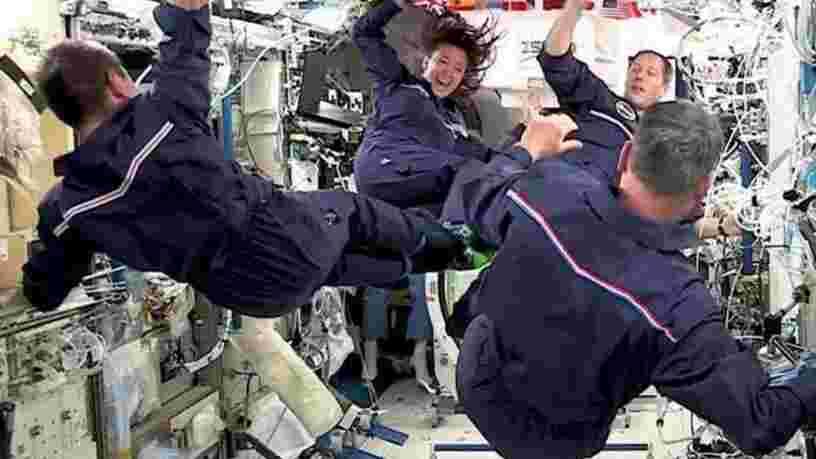 Les astronautes de la Station spatiale internationale ont organisé leurs propres JO, découvrez-les en images