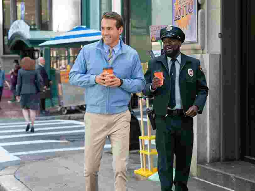 'Free Guy' avec Ryan Reynolds prend la tête du box-office américain
