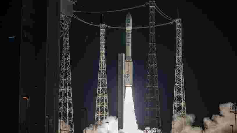 La fusée européenne Vega a réussi un nouveau lancement depuis Kourou