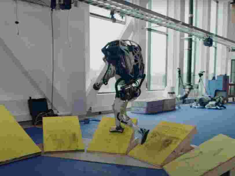 En vidéo, les robots de Boston Dynamics savent désormais éviter des obstacles et faire des saltos