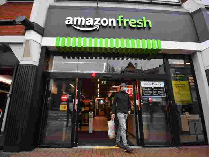 Des grands magasins Amazon vont voir le jour aux États-Unis