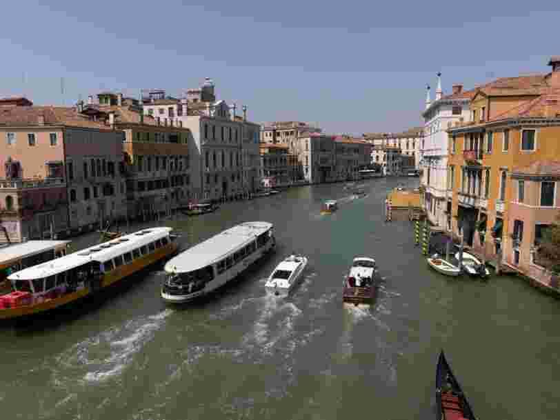 Venise a engagé des gardes armés pour contrôler la surpopulation touristique