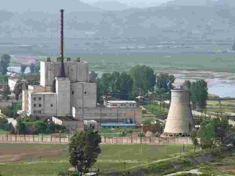 La Corée du Nord aurait redémarré un réacteur nucléaire, en 'violation' des résolutions de l'ONU