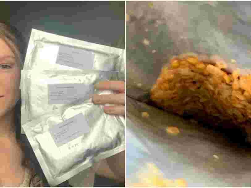On a testé les plats préparés pour Thomas Pesquet à bord de l'ISS