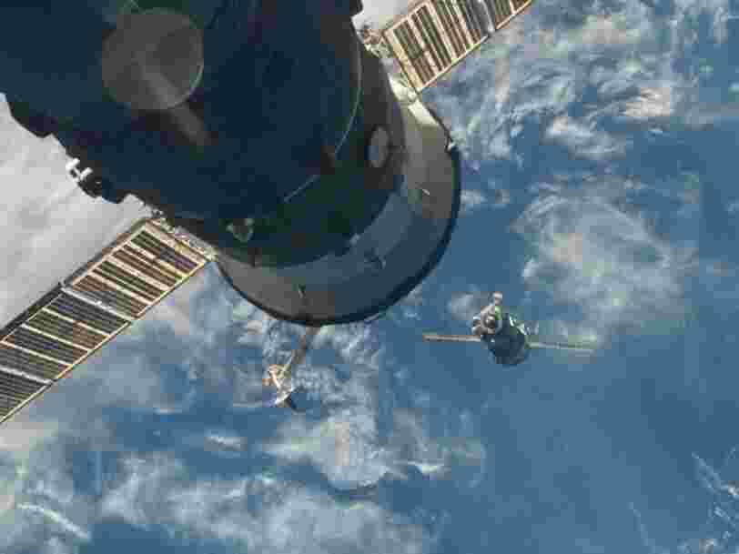 Des cosmonautes ont découvert des fissures sur un module russe de l'ISS