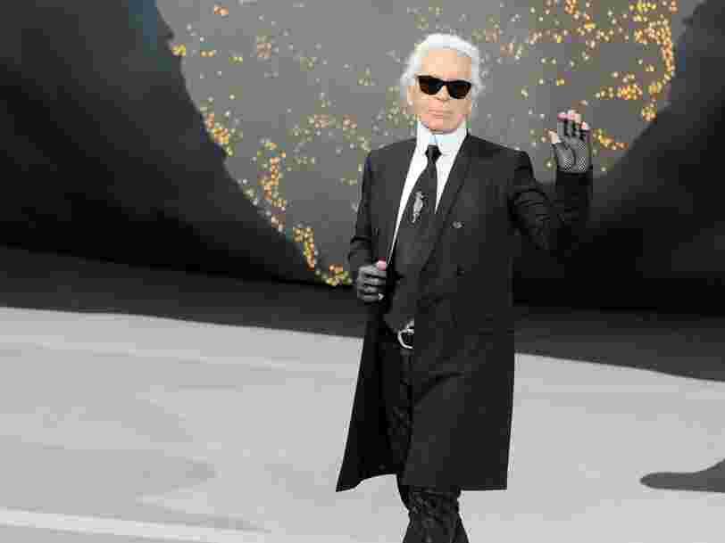 Disney+ prépare une série sur Karl Lagerfeld