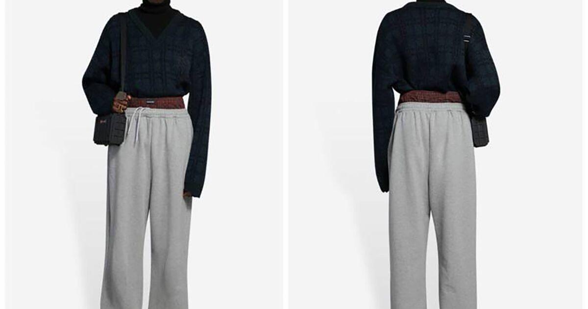 Des clients estiment que ce pantalon Balenciaga à 1 200$ est raciste