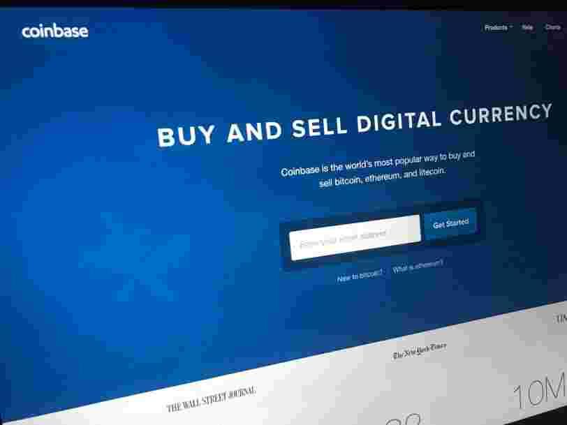 Coinbase sous pression du gendarme américain de la Bourse opposé à son offre de prêt de cryptomonnaies