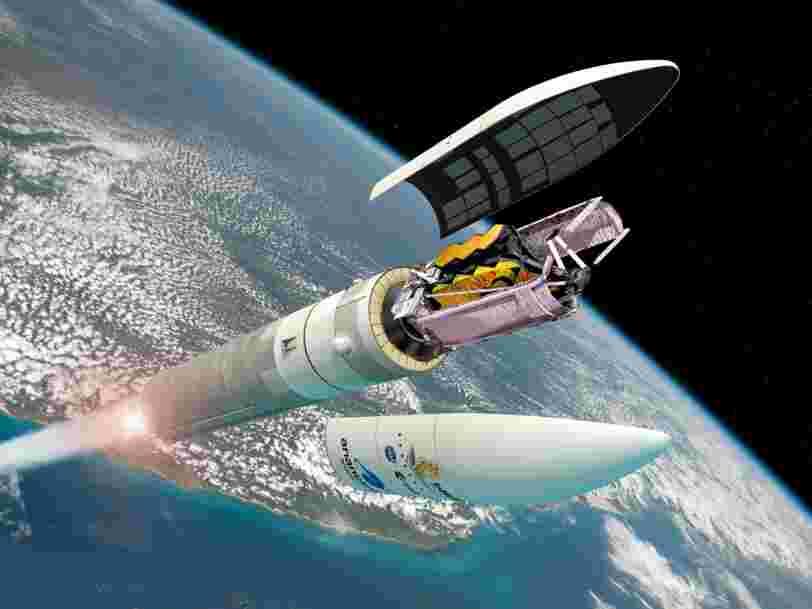 Le lancement de James Webb, 'plus grand satellite jamais envoyé dans l'espace', est prévu le 18 décembre