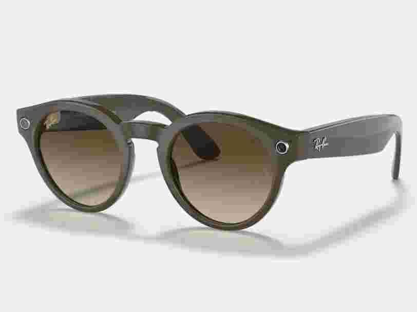 Les lunettes intelligentes Ray-Ban de Facebook sont capables de prendre des photos et de téléphoner