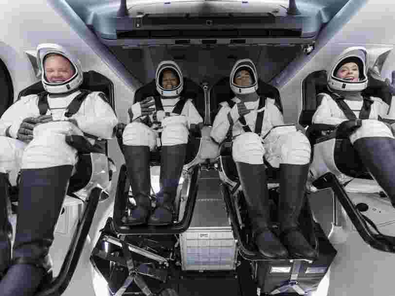 SpaceX s'apprête à lancer Inspiration4, sa première mission de tourisme spatial