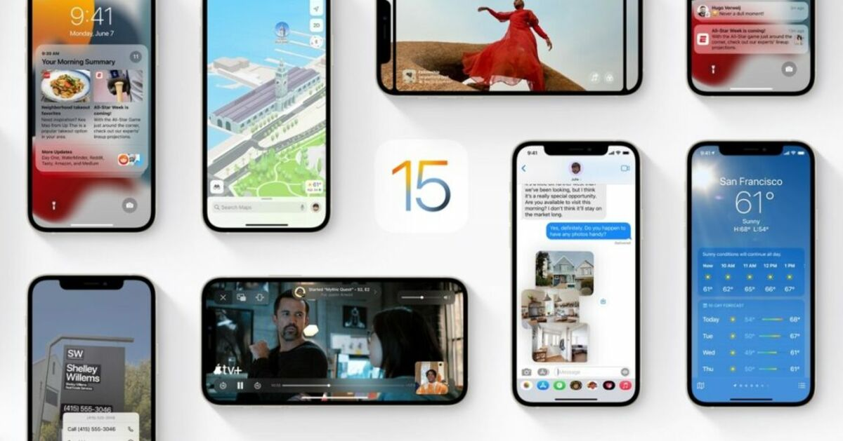 3 nouveautés d'iOS 15 qui vont vous faciliter la vie