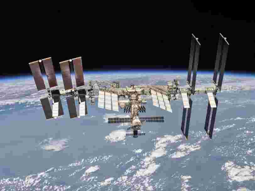 La NASA prévoit jusqu'à 400 M$ pour faire construire des stations spatiales privées