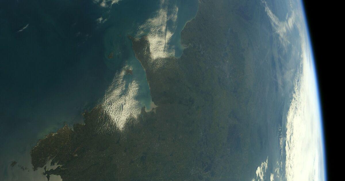 10 photos de la France prises depuis l'espace par Thomas Pesquet