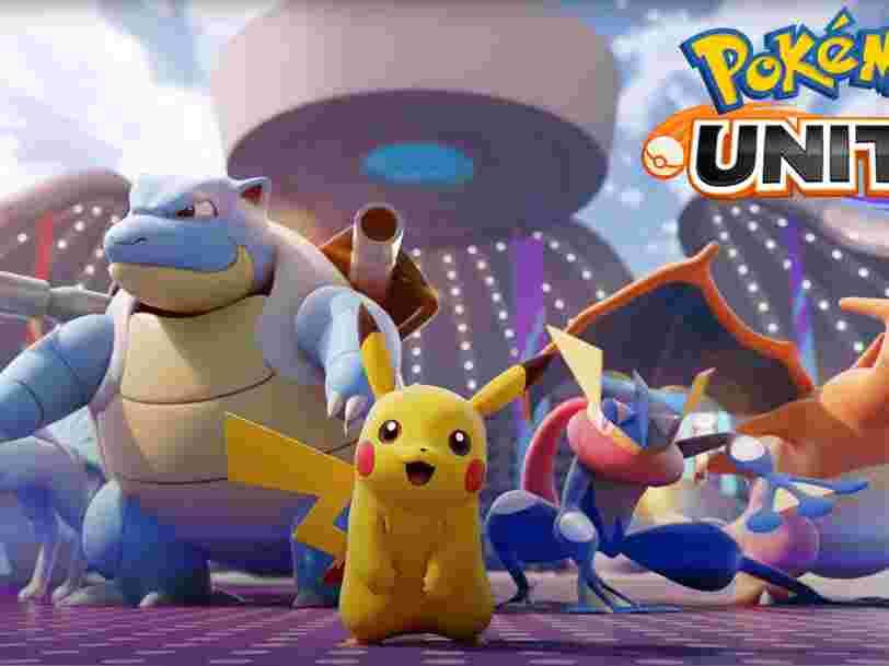 Pokémon Unite pourrait être le prochain grand succès de Nintendo sur mobile