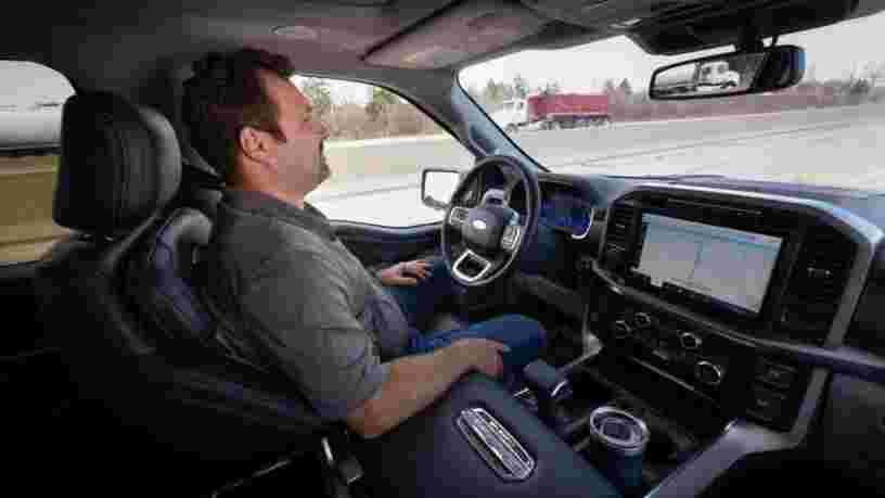 J'ai testé BlueCruise, le système de conduite sans les mains de Ford