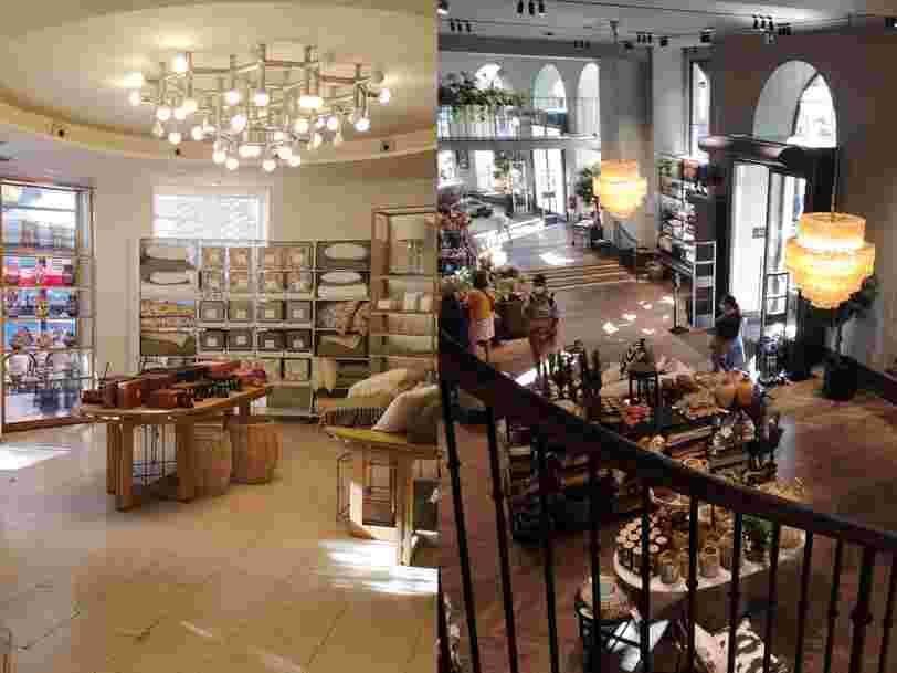 On a visité les magasins Zara Home et H&M Home à Paris, voilà ce qui les différencie
