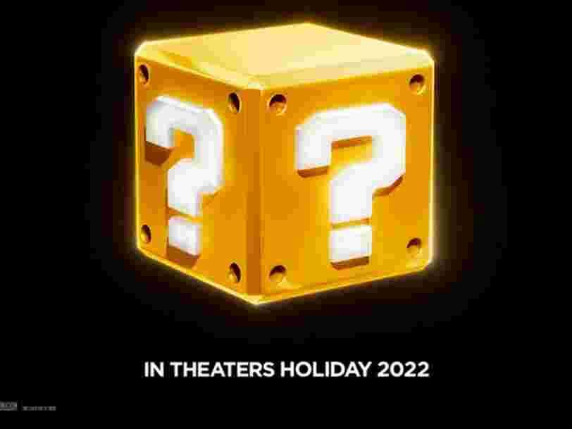 Le film Super Mario Bros. créé par le studio derrière 'Les Minions' sortira en décembre 2022