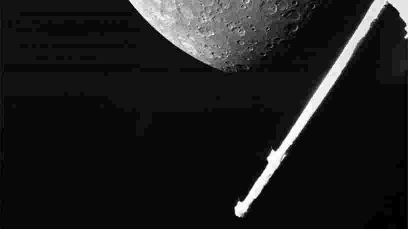 Voici la meilleure photo de Mercure prise en six ans par la sonde BepiColombo