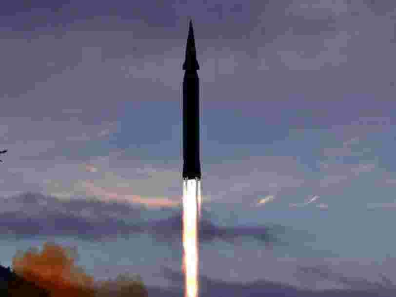 La Corée du Nord exhibe son missile hypersonique lors d'une exposition à Pyongyang