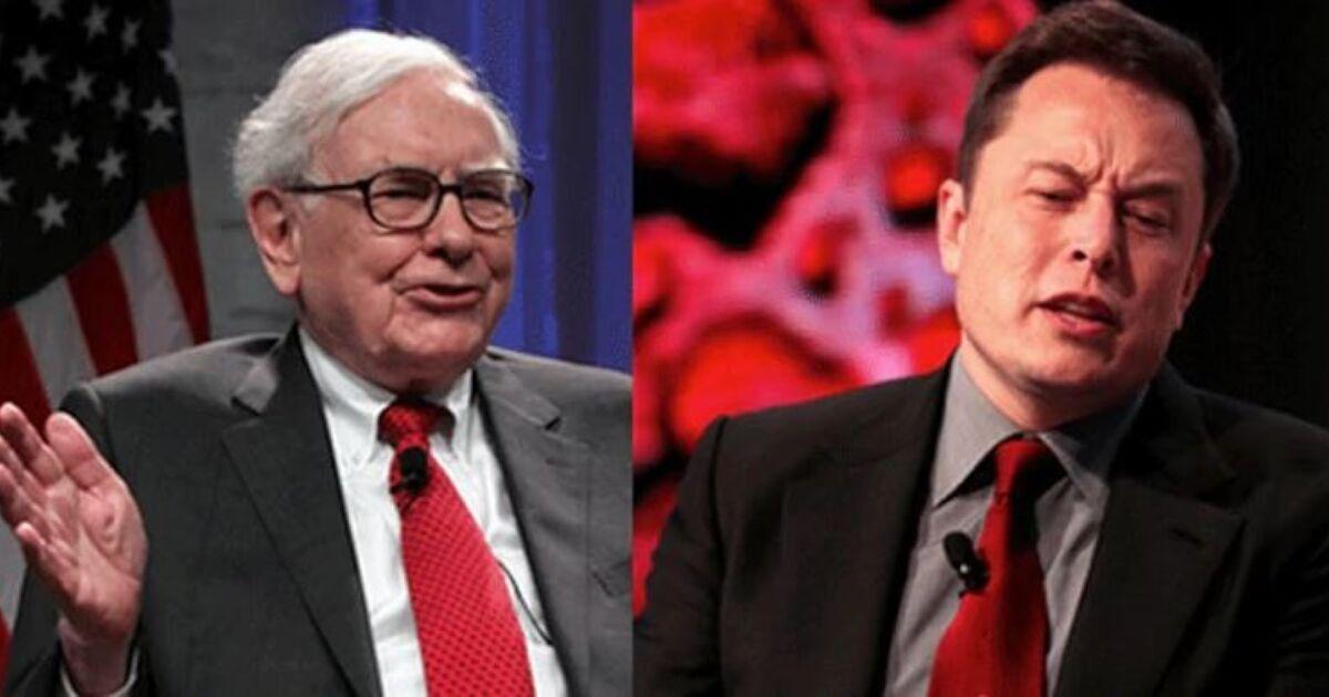 Elon Musk se moque de Warren Buffet, devenu bien moins riche que lui