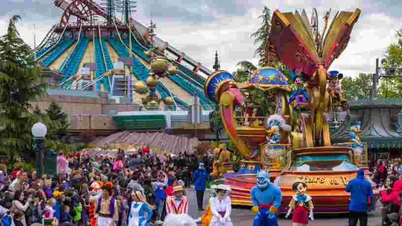 Les parades font leur retour à Disneyland Paris après 20 mois d'absence