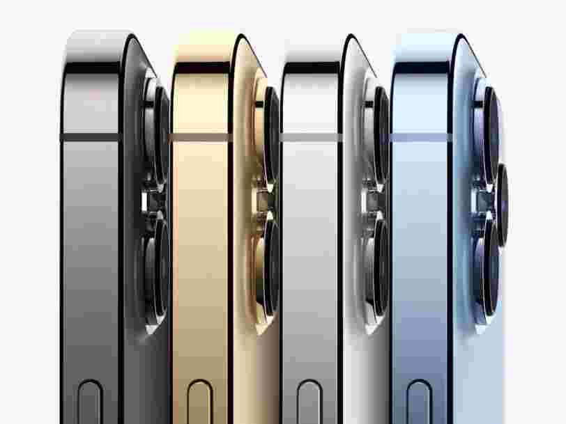 Tout le monde n'aura pas son iPhone 13 à temps pour les fêtes à cause de la pénurie de puces électroniques