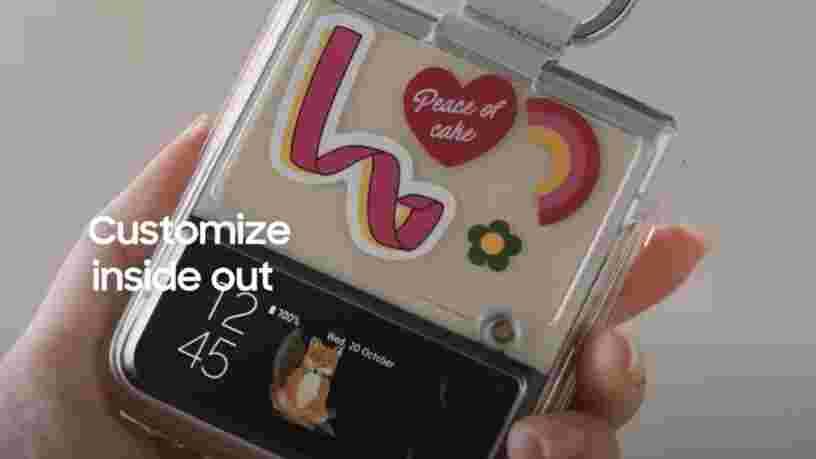 Z Flip 3 : Samsung propose de jouer avec les couleurs de son smartphone pliable avec l'Edition Bespoke