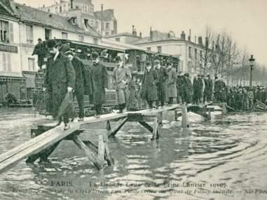 En 1910, la crue de la Seine transforme Paris en Venise
