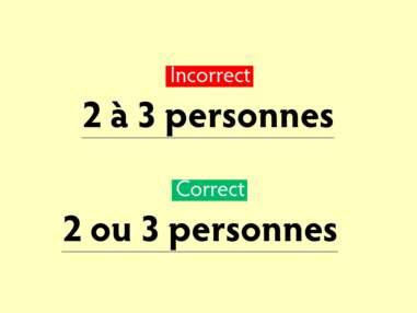 Dix fautes de français répandues mais faciles à éviter