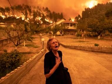 Les incendies en Grèce en 10 images fortes