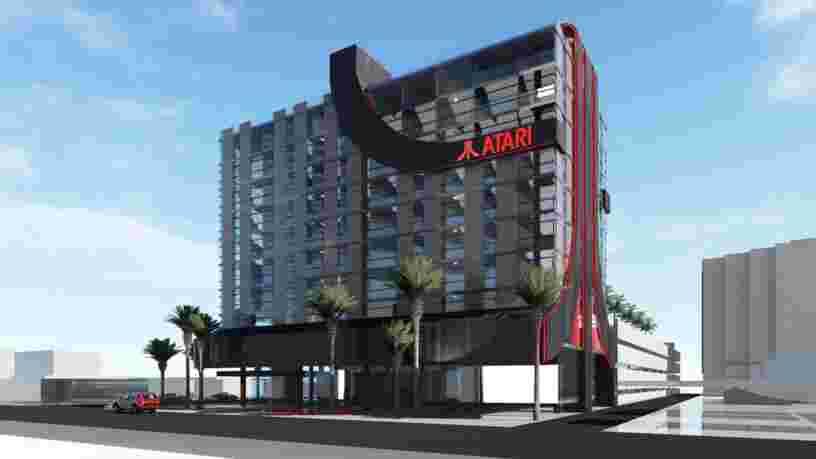 Dormir dans un hôtel dédié aux jeux vidéo sera bientôt possible avec Atari