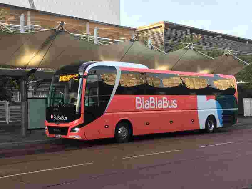 Les cars de BlaBlaCar reprendront la route à partir du 31 mars