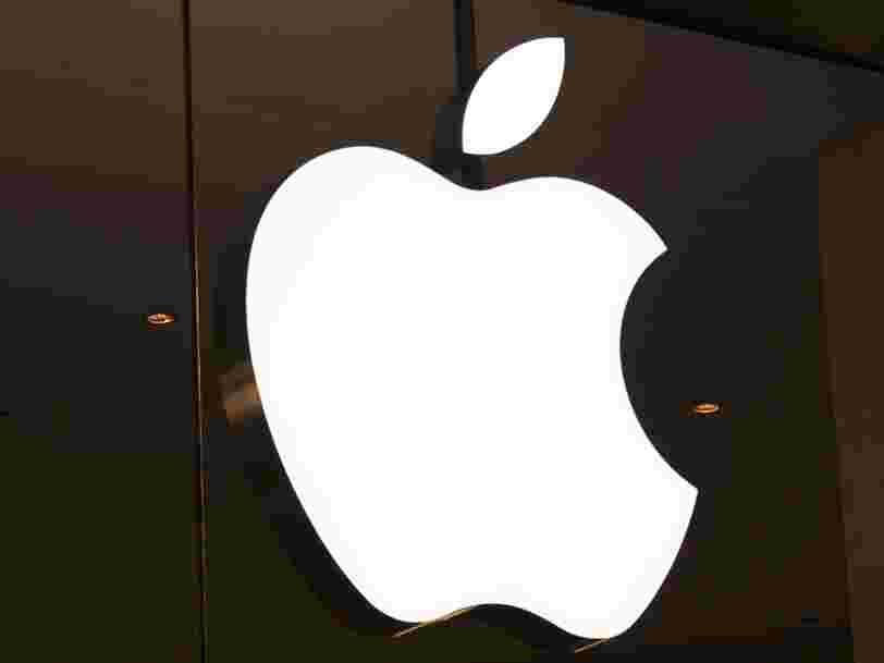 Apple affiche de meilleurs résultats que prévu au troisième trimestre