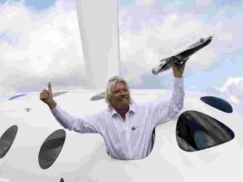Richard Branson veut s'envoler dans l'espace dès le 11 juillet, avant Jeff Bezos