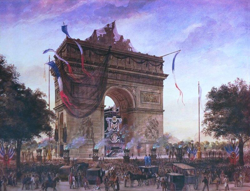 Lors des funérailles de Victor Hugo en 1885, deux millions de personnes l'ont accompagné jusqu'au Panthéon. L'écrivain avait choisi son corbillard. Il voulait qu'il soit :