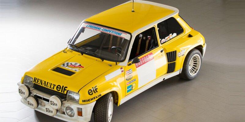 """Renault 5 Turbo compétition client """"Cévennes"""" - 1982 - La voiture est estimée :"""