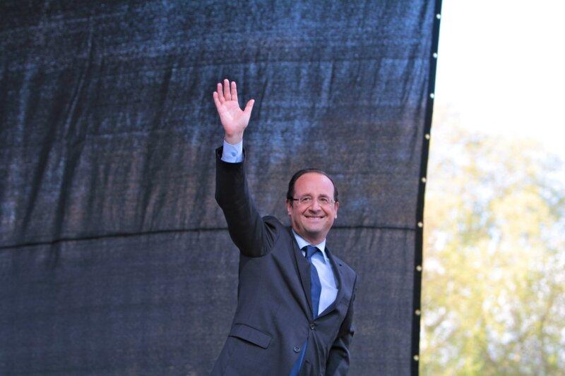François Hollande a été intronisé dans la confrérie du melon.